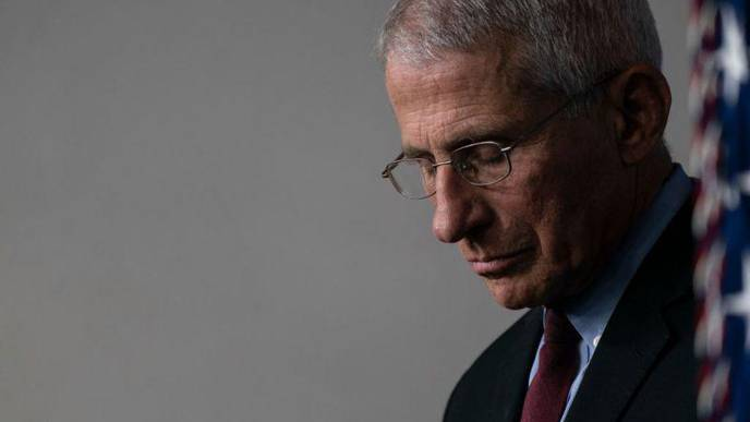 'We Are Struggling to Get It Under Control' Dr. Anthony Fauci Says About the U.S. COVID-19 Outbreak
