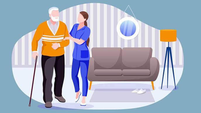Acute Illnesses & Injuries Raise Seniors' Risk of Severe Disability
