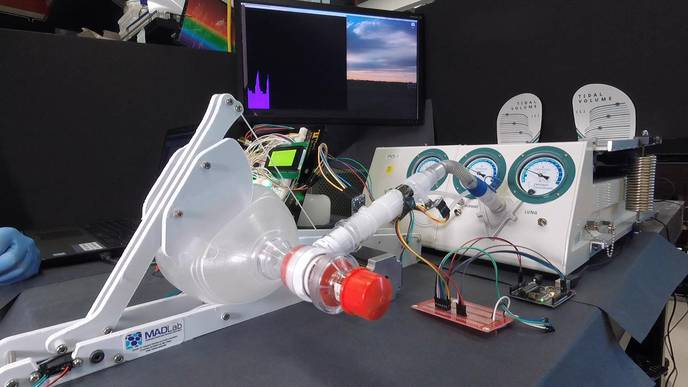 Researchers Develop Low-Cost, Easy-to-Use Emergency Ventilator for COVID-19 Patients