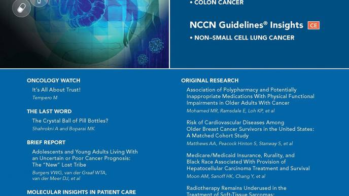 JNCCN: New Evidence on Need to Address Muscle Health Among Patients with Cancer